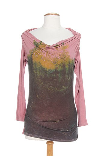 nolita t-shirts femme de couleur rose
