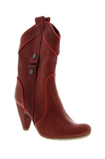 fornarina chaussures femme de couleur rouge