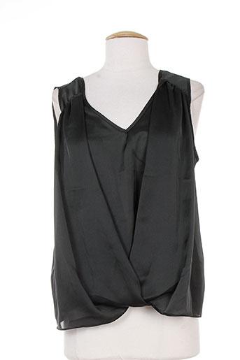 quiet chemises femme de couleur noir