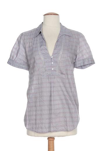 bella jones chemises femme de couleur gris
