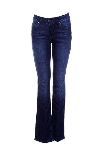 Jeans skinny bleu CORLEONE pour femme
