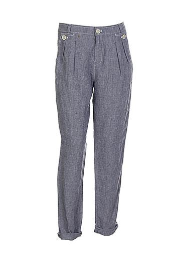 et vous pantalons femme de couleur gris
