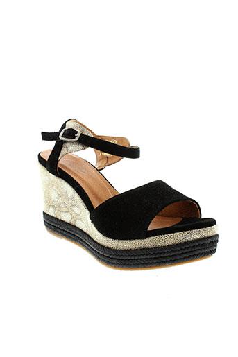minka et design sandales et nu et pieds femme de couleur noir