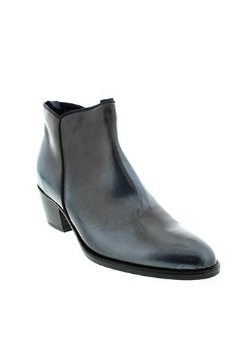 noe boots femme de couleur bleu