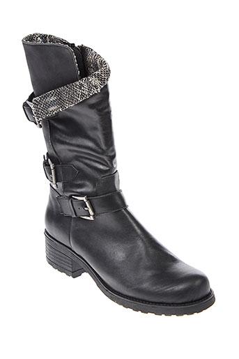 axell bottes femme de couleur noir
