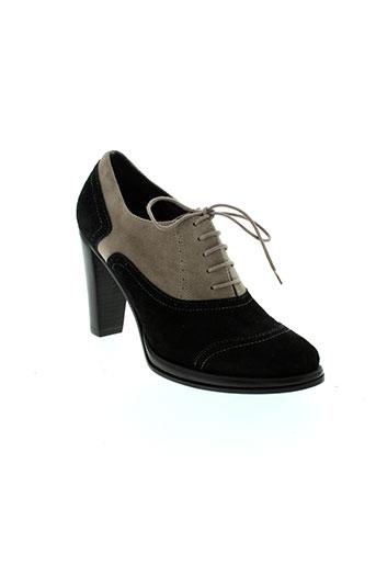 parallele chaussures femme de couleur noir