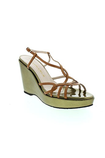 parallele chaussures femme de couleur marron