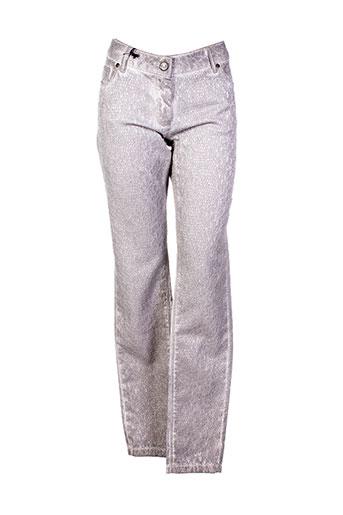 nu pantalons et decontractes femme de couleur beige