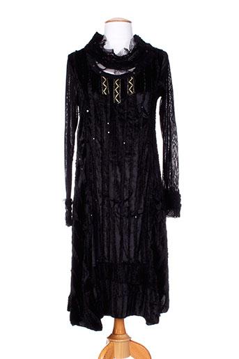 caty lesca robes femme de couleur noir