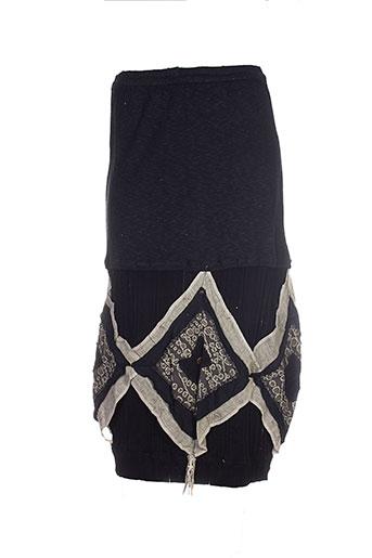 caty lesca jupes femme de couleur noir