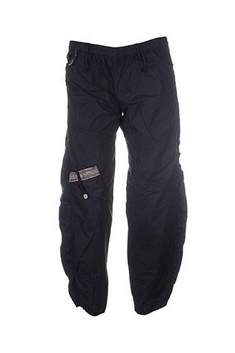 caty lesca pantalons femme de couleur noir