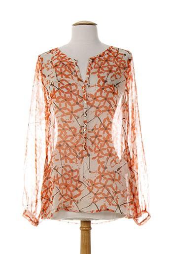 daniel hechter chemises femme de couleur orange