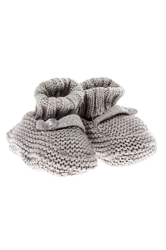absorba chaussons enfant de couleur gris