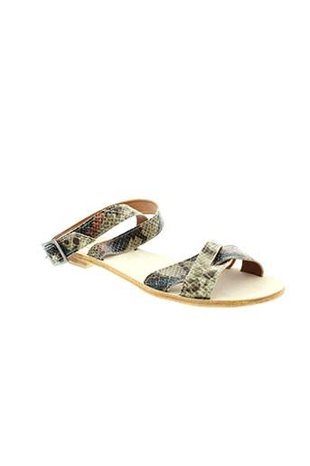 venice et beach sandales et nu et pieds femme de couleur beige