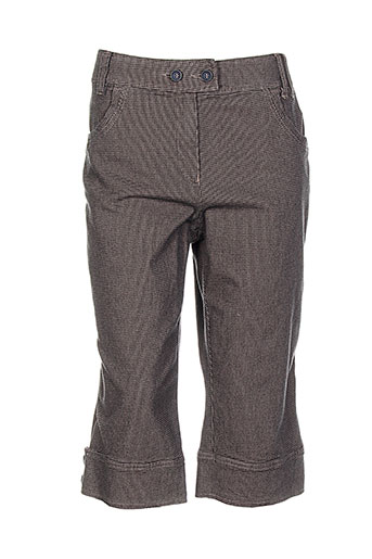 zaffiri shorts / bermudas femme de couleur marron