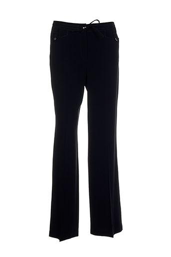 gerard darel pantalons femme de couleur noir