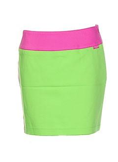 Mini-jupe vert WHO'S WHO pour femme