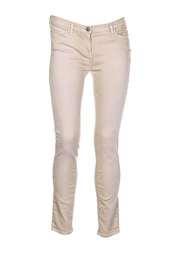 who's who pantalons femme de couleur beige