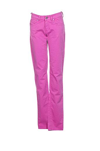 Pantalon casual rose FIORUCCI pour femme