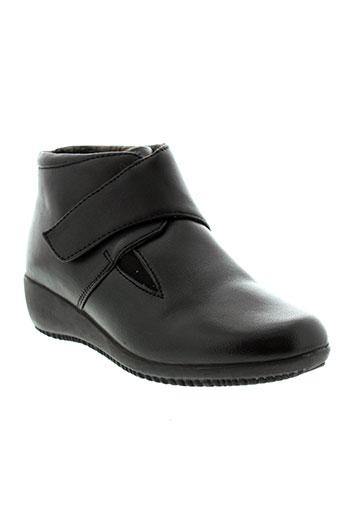 flexoline boots femme de couleur noir