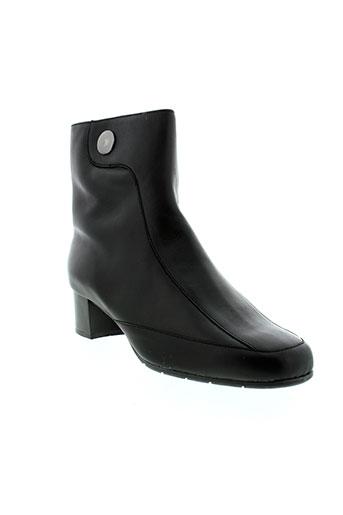 artika et soft bottines femme de couleur noir