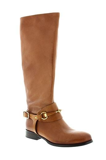 la et zampa bottes femme de couleur marron
