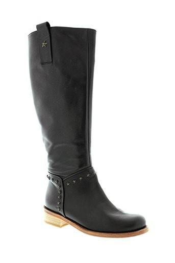anaid et kupuri bottes femme de couleur noir