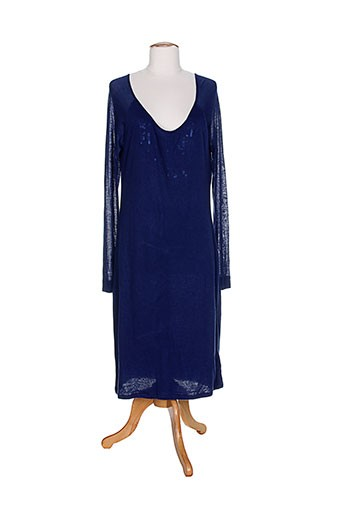 aby et gardner robes et mi et longues femme de couleur bleu