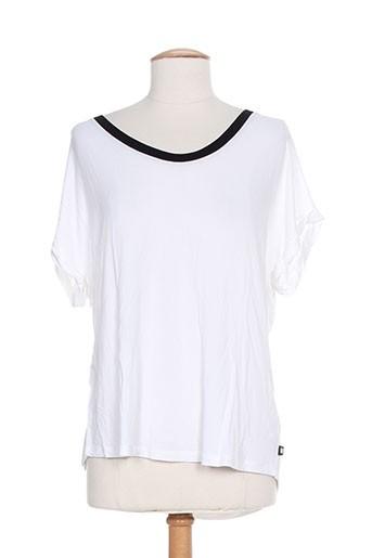 diplodocus t-shirts femme de couleur blanc