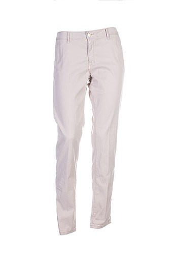 islow pantalons femme de couleur gris
