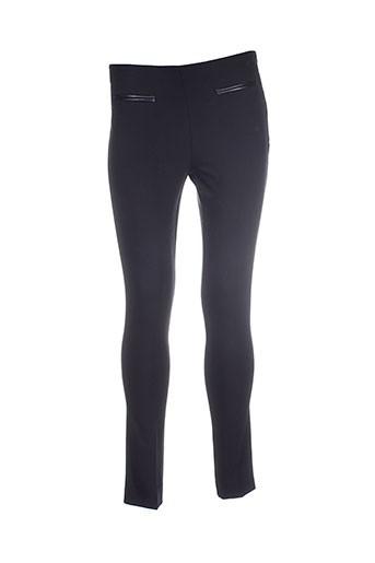 indi EFFI_CHAR_1 cold pantalons femme de couleur noir