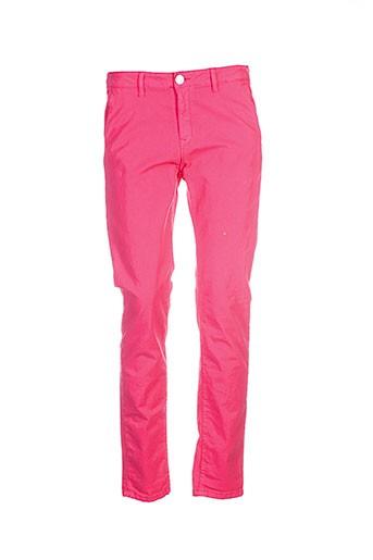 Pantalon casual rose ISLOW pour femme