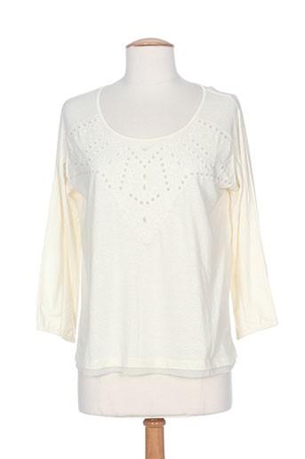 T-shirt manches longues beige MKT STUDIO pour femme