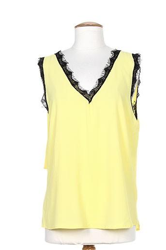 ma petite fiancee chemises femme de couleur jaune