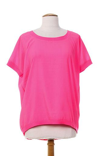 fracomina chemises femme de couleur rose