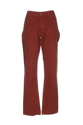 gant pantalons et decontractes homme de couleur marron