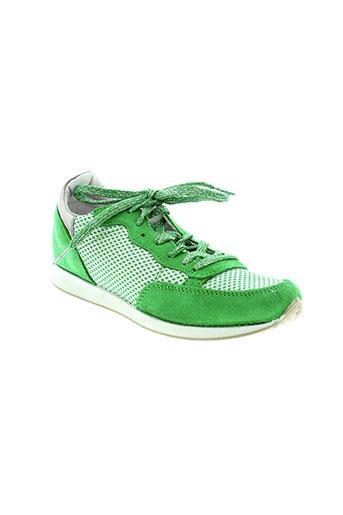 ippon et vintage baskets femme de couleur vert