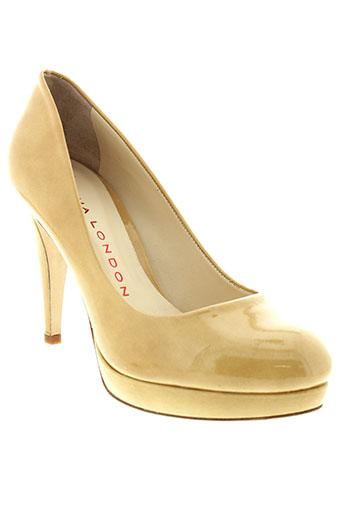 sacha london chaussures femme de couleur beige
