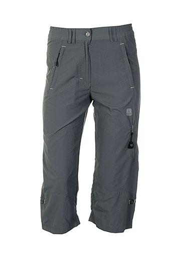 cimalp shorts / bermudas femme de couleur gris