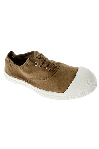 bensimon chaussures fille de couleur vert