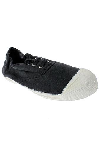 bensimon chaussures fille de couleur noir