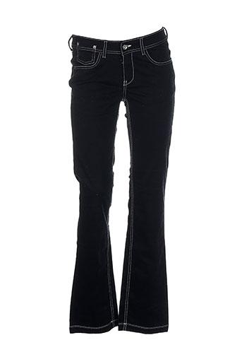 laita pantalons femme de couleur noir