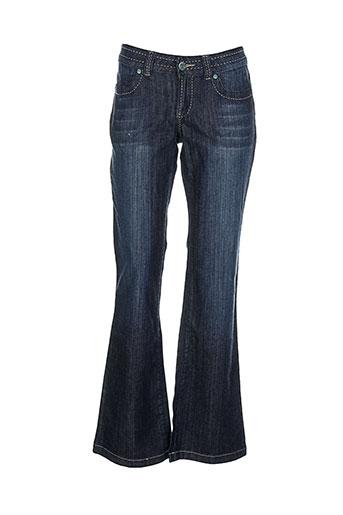 gate one jeans femme de couleur bleu