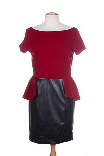 josh robes femme de couleur rouge