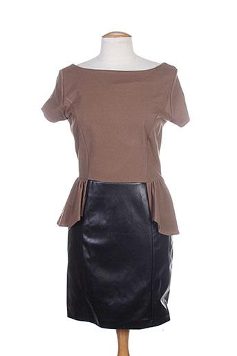 josh robes femme de couleur marron
