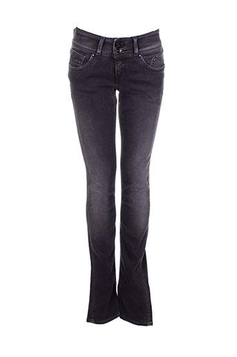 teddy smith jeans fille de couleur noir