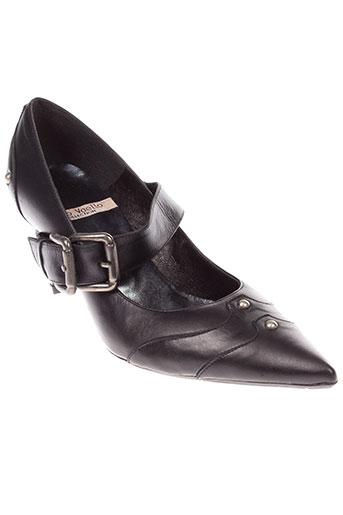 gino vaello chaussures femme de couleur noir