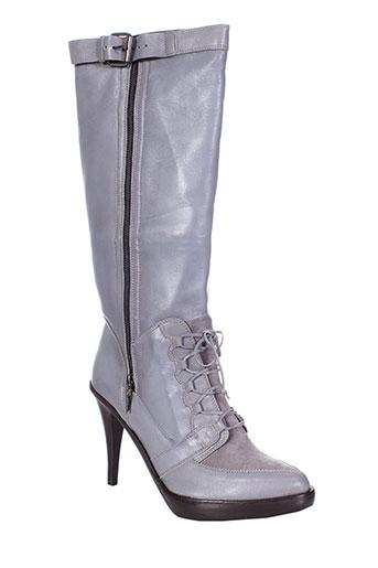pinko chaussures femme de couleur gris