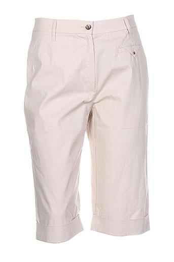rosa rosam shorts / bermudas femme de couleur beige