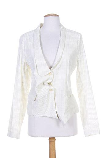 lilith vestes femme de couleur blanc